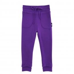 Dublati reversibili din lana merinos extrafina cu buzunare Dark Violet/ Dark Navy