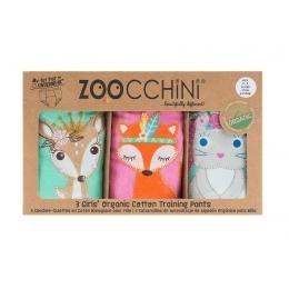 Set 3 Chilotei Antrenament, Zoocchini, Fetita, 2-3 ani, 100% Bumbac Organic, Princess