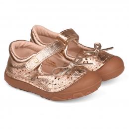 Pantofi Fete Bibi Grow Aurii