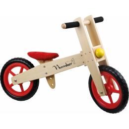 Bicicleta de echilibru din lemn