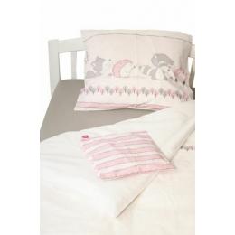 Lenjerie pat copii Odette Pink