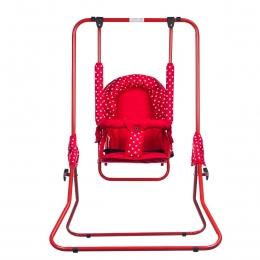 Leagan pentru copii, Top Kids, pentru interior si exterior, Red Mini