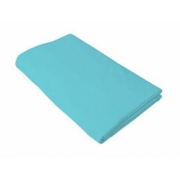 Cearceaf turcoaz KidsDecor cu elastic pat tineret