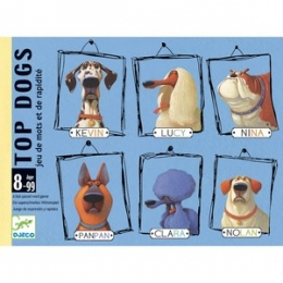 Joc de strategie Djeco, Top Dogs