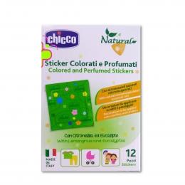 Plasturi decorativi Chicco, ulei din lemongrass si eucalipt, 12buc, 3ani+