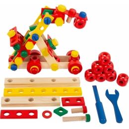 Set de construit Suruburile colorate