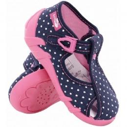 Sandale Fete, Albastru Roz, marca RenBut, inchidere catarama