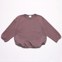 Bluza din bumbac organic Mauve