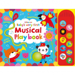 Usborne Baby's very first touchy-feely musical play book