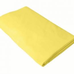 Cearceaf galben KidsDecor cu elastic patut copii 80x160 cm