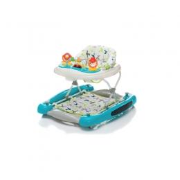 Centru de joaca premergator-balansoar Turquoise playne Fillikid