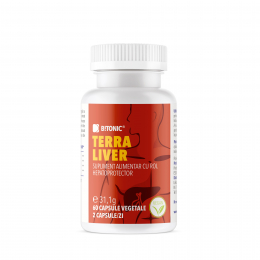 Supliment natural BiTONIC Terra Liver