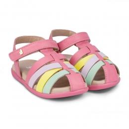 Sandale Fete BIBI Baby Soft Cherry/Color