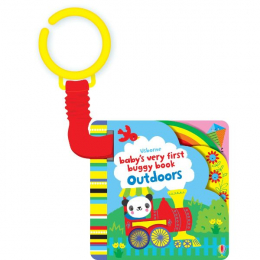 Usborne Baby's Very First buggy book Outdoors - carticica de agatat