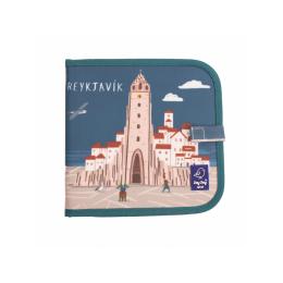 """Carte refolosibila pentru desen/colorat - Colectia """"Cities of Wonder"""" - Reykjavik"""