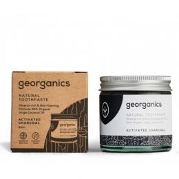 Pasta de dinti minerala charcoal, GEORGANICS
