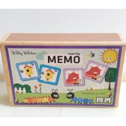 Joc memorie Memo - Wacky Wonders