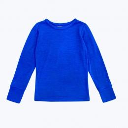 Bluza din lana merinos Royal Blue