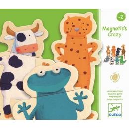 Joc cu magneti Djeco Animale- amuzante