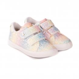 Pantofi Fete BIBI Agility Mini Glitter Rainbow