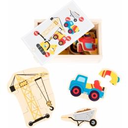 Set 5 puzzle-uri Utilaje constructie