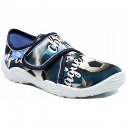 Pantofi Baieti, marca RenBut, Albastru Fotbal