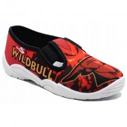 Pantofi Baieti, Rosu Alb, marca RenBut