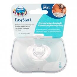 Set 2 protectii pentru mamelon, Canpol babies, marimea L, silicon, fara BPA
