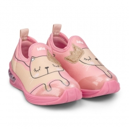 Pantofi Fete LED Bibi Space Wave 2.0 Kitty