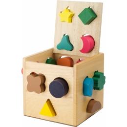 Cutie invatare forme geometrice (16 forme)