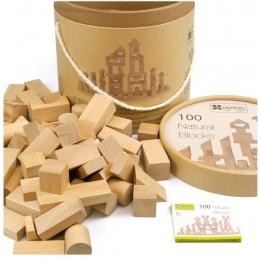 Maxi Galetusa cu 100 cuburi lemn