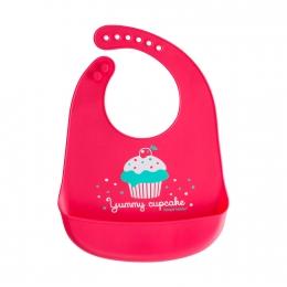 """Baveta din silicon moale """"Cupcake"""", fara BPA"""