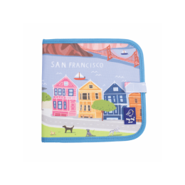 """Carte refolosibila pentru desen/colorat - Colectia """"Cities of Wonder"""" - San Francisco"""