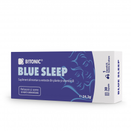Supliment natural BiTONIC Blue Sleep