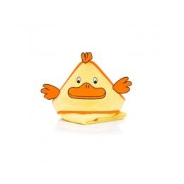 Prosop brodat Duck yellow  75x75cm. Fillikid
