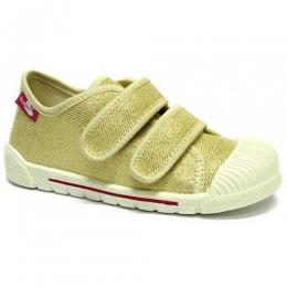 Pantof Baieti, marca RenBut, cu inchidere velcro, Bej