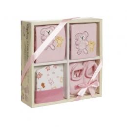 Set 4 piese bebelus Pink  A Haberkorn