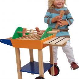 Set gratar din lemn - jucarie copii