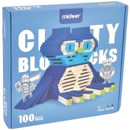 City Blocks-cuburi de lemn pentru construit in 4 culori