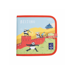 "Carte refolosibila pentru desen/colorat - Colectia ""Cities of Wonder"" - Beijing"