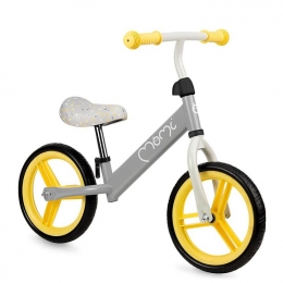 Bicicleta fara pedale Nash, Momi, Yellow