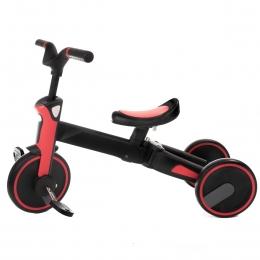 Tricicleta Uonibaby 3 in1, Pliabila - Red