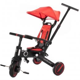 Tricicleta Uonibay 3 in 1, Pliabila si Reversibila - Red
