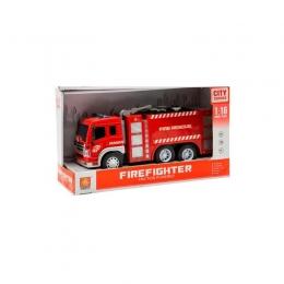 Masina de pompieri cu sunete si lumini Fire Rescue 3ani+ Hausmann
