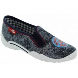 Pantofi Baieti, Gri Alb, marca RenBut