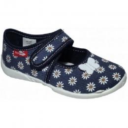 Sandale Fete, Albastru, inchidere velcro, marca RenBut