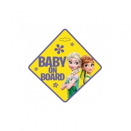Baby la bord - Stiker Disney Frozen Seven