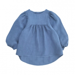Bluza din in organic Blue