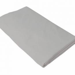 Cearceaf gri KidsDecor cu elastic patut copii 70x160 cm