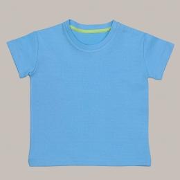 Tricou JOSETTE din bumbac organic - Light Blue